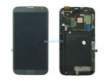 For Samsung Galaxy Note 2 N7105 LCD Display Touch Screen+ Frame grey+cover+tool