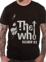 Official The Who Maximum RNB T Shirt Rock Band Pinball Wizard Roger Daltrey