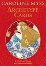 Archetype Cards : An 80-card Deck with instruction booklet by Caroline Myss (200