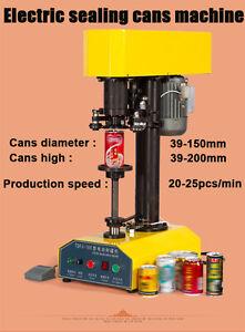 Automatic Tin Cans Sealing Machine,Cans Sealing Machine 20-25pcs/min