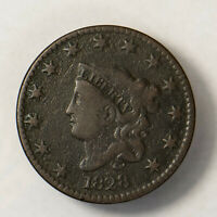 1828 CORONET HEAD 1C LARGE CENT ** EARLY US COPPER Lot#R126
