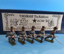COWF-163 - ACW-30 - Thomas' Tin Soldiers - 4th Texas Hoods Brigade - 54mm Metal