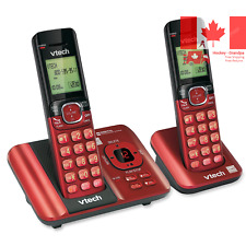 DECT 6 0 Phone Answering System with Caller ID Call Waiting 2 Cordless Handse...