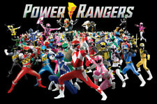 POWER RANGERS - CHARACTERS POSTER - 24x36 - 1779