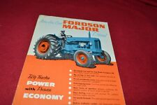 Fordson Major Diesel Tractor Dealer's Brochure YABE14