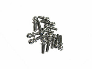Team Associated T6.1 Stadium Truck Suspension Pivot Steel Ball Stud Set (14)