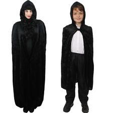 I Love Fancy Dress ILFD4542 Long Hooded Velour Cape One Size