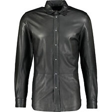 65% OFF DIESEL Leather Shirt XL  Luxuriously Soft Leather RRP £520