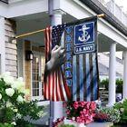 U.S Navy Veteran Gift For Veteran - Garden Flag / House flag