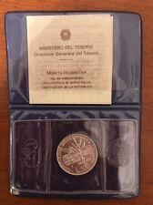 MONETE REPUBBLICA 500 Lire argento anniversario costituzione 1988  16/10
