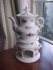 Old Paris porcelain teapot on stand