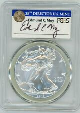2017 $1 Silver Eagle 225th Anni First Day of Issue MS70 PCGS Ed Moy 1 of 1000
