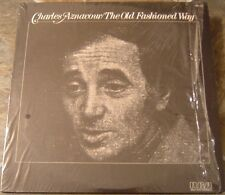 """Album By Charles Aznavour, """"Old Fashioned Way"""" on Rca"""