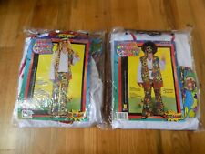 Costumania Hippie Dippie Man and Woman Costumes