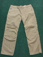 Carhartt Mens Full Swing Work Pants 101709 Brown Size 42x30 Excellent Condition!