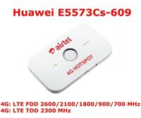 Huawei E5573s-609 4G Mobile WiFi Hotspot Pocket Router LTE FDD 150Mbp Unlocked
