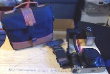 Olympia GM 8426 Film Camera Includes SLR Camera~Flash,Straps & Bag FREE SHIPPING