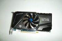 SAPPHIRE Radeon HD 7770 GHZ Edition PCIe Graphics Video Card 1GB DVI DP HDMI