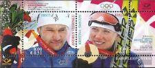 Estonia Bloque 26 (completa.edición.) nuevo con goma original 2006 Olimpia