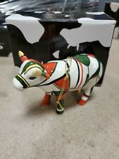 Cow Parade Figurine Ornament, Cubist Cow Ornament #150800