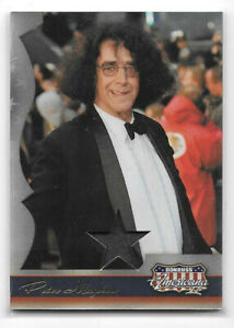 2008 Donruss Americana II Stars Material #130 Peter Mayhew /500 Chewbacca