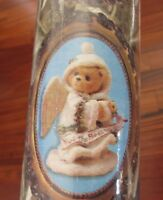 Vintage Wrapping Paper Roll Christmas Teddy Bears 35 sq ft Cherished Teddies