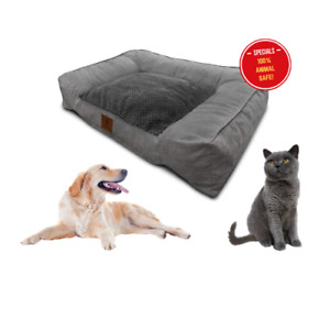 Extra Lar Couch Sofa Style  Orthopedic & Memory Foam for Cats & Dogs