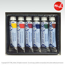 VAN GOGH WATERCOLOR 6 X10 ML TUBE SET. Aquarelle. Water Colours. Free Shipping*
