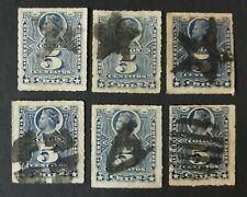 CHILE Peru Pacific War mute town cancel lot 6 Columbus judge your own if genuine