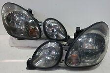 SMOKED HID Headlights Head Lamp Toyota Aristo JZS161 JZS160 LEXUS GS300 GS400