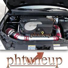 RED 2004-2010 CHEVY MALIBU 3.5 3.5L V6 AIR INTAKE KIT SYSTEMS + FILTER