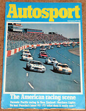 Autosport 11/1/79* 1978 USA RACING REVIEW - THE COST of F3 feat NELSON PIQUET