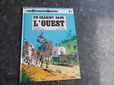 belle reedition des tuniques bleus un chariot dans l'ouest