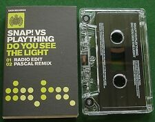 Snap! vs Plaything Do You See the Light Cassette Tape Single - TESTED