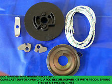 Suffolk Punch/Atco pull start repair kit pulley, spring, pawls, cord,activator