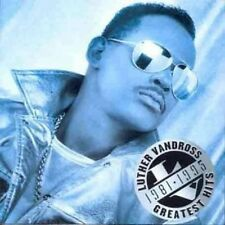 LUTHER VANDROSS ( NEW SEALED CD ) GREATEST HITS 1981 - 1995 / THE VERY BEST OF