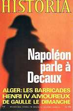 Historia - N°339 - Fevrier 1975 - 1875 Algerie Napoléon L'or nazi De gaulle Acie