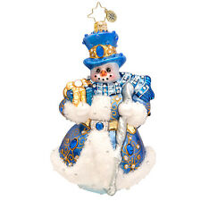 Christopher Radko - Winter Frost Diamond - Snowman - Luxe Collection 1017510