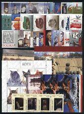 Poland MNH 2010 Complete Year set 30 stamps + 7 Souvenir sheets