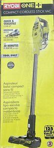 Ryobi P724B 18V Compact Cordless Stick Vac Vacuum Cleaner (Tool Only) Refub