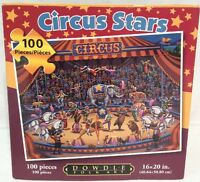 Circus Stars a 100-Piece Children's Puzzle by Dowdle Folk Art