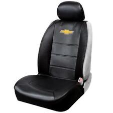 Official Licensed Chevy Logo Sideless Black Seat Covers Set Car/SUV/Truck