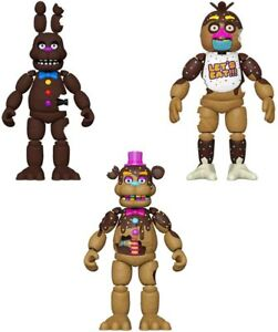 "NEW 2021 Funko Five Nights At Freddy's Chocolate EASTER EDITION 5"" Figures FNAF"