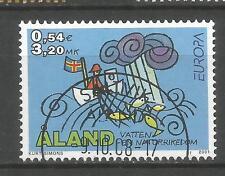 Cept / Europa   2001   Aland   gest