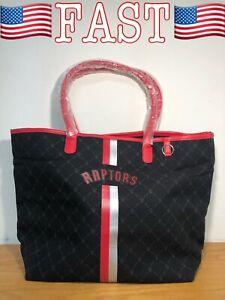 Toronto Raptors Womens Handbag, Large Tote, Travel Bag, one size, Black - NEW!!