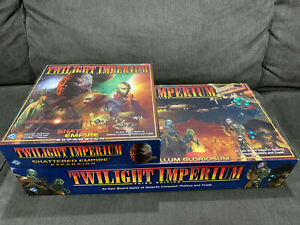 Twilight Imperium Board Game 3rd Edition & Shattered Empire Expansion