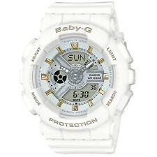 Casio Baby-G BA110GA-7A1 White Tandem Series Analog Digital Women's Watch