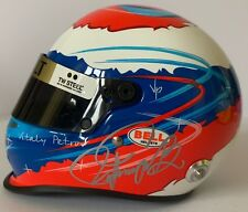 VITALY PETROV HAND SIGNED F1 1/2 SCALE HELMET 2011 VERY RARE.