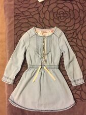 Dress soft denim.  girls, From Next, size 104cm,  4 years