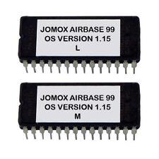 JOMOX AIRBASE 99 LATEST OS V1.15 EPROMS AIRBASE99 DRUM MACHINE NO TR